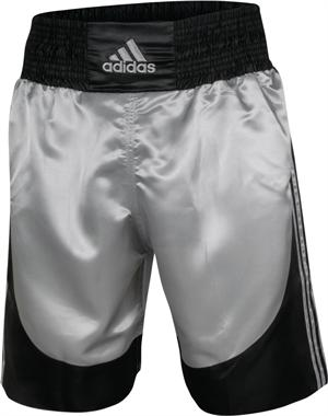 Adidas Silver Boxing Trunks